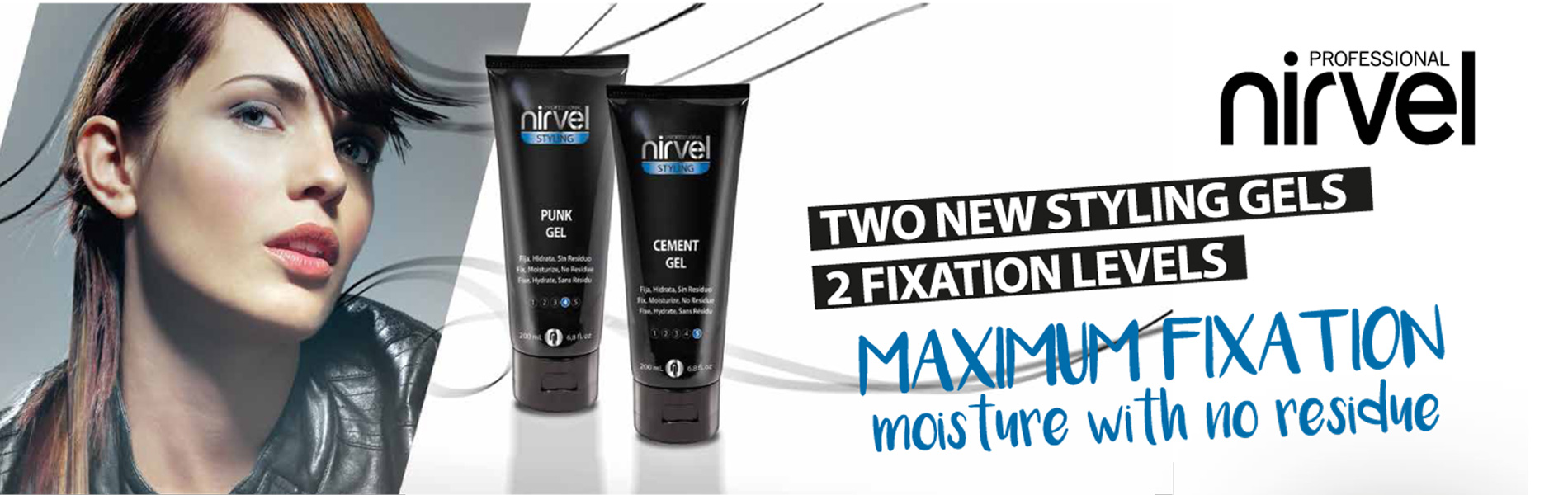 STYLING GEL MAXIMUM FIXATION NIRVEL