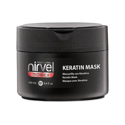 Μάσκα μαλλιών keratinliss Nirvel 250ml