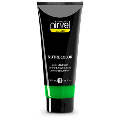 Χρωμομάσκα-βαφή μαλλιών mint Nirvel 200ml