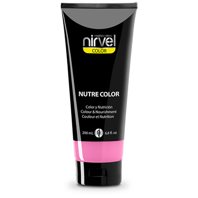 Χρωμομάσκα-βαφή μαλλιών bubble gum Nirvel 200ml