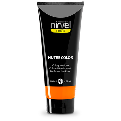 Χρωμομάσκα-βαφή μαλλιών tangerine Nirvel 200ml