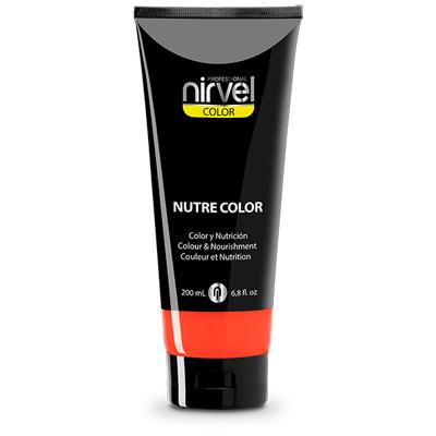 Χρωμομάσκα-βαφή μαλλιών coral Nirvel 200ml