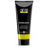 Χρωμομάσκα-βαφή μαλλιών lemon Nirvel 200ml