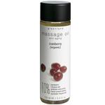 Λάδι Μασάζ με Cranberry 150ml-Οργανικό