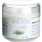 Κρέμα σώματος-βούτυρο με γάλα αμυγδάλου και λωτό milky 150ml