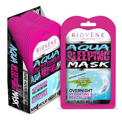 Μάσκα προσώπου Pink Aqua sleeping by Biovene 12,5ml