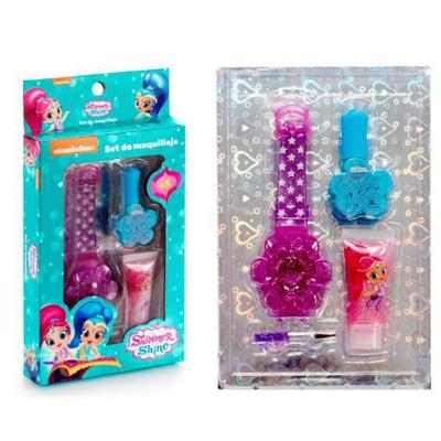 Παιδικό σετ shimmer & shine με ρολόι 4τμχ