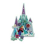 Παιδικό σετ κάστρο frozen με 3 βερνίκια