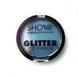 Σκιά μονή glitter Show No7 Turquoise