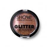 Σκιά μονή glitter Show No4 dark Brown