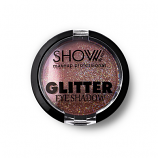 Σκιά μονή glitter Show No6 Nude light